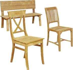 Ruim assortiment stoelen - Houten stoelen om te eten ...